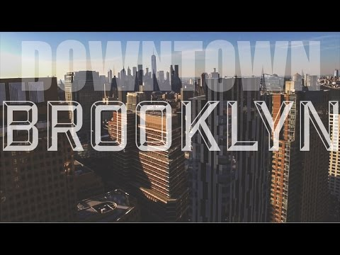 Downtown Brooklyn from a Drone!