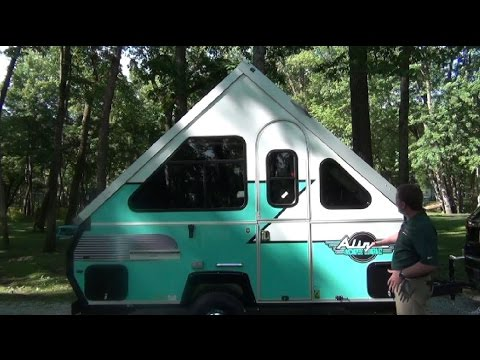 Retro Aliner Pop Up Camper Limited Edition Youtube