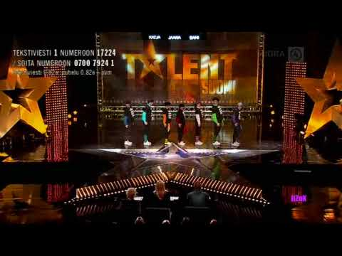 Talent Suomi 2009 - Semifinaali - Will Funk For Food (HD)