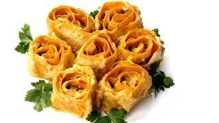 Лазанья Розы. Подарите любимым вкусный букет.