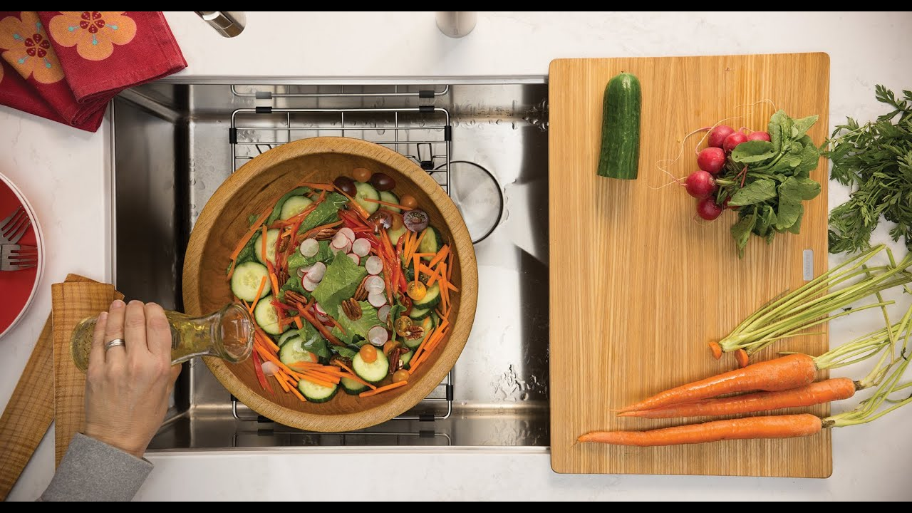 Simple and healthy lunch using innovative kitchen sink accessories simple and healthy lunch using innovative kitchen sink accessories blanco canada workwithnaturefo