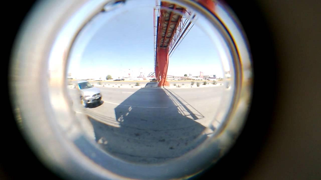 Me puse mi ojo de pescado y estoy en un puente youtube for Espejo ojo de pescado