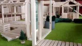 Ландшафтный дизайн дачного участка. ЛэндБокс.(land-box.ru Лёгкие хозяйственные постройки, зоны отдыха, дорожки, детские площадки и многое другое из дерева..., 2013-04-18T07:13:25.000Z)