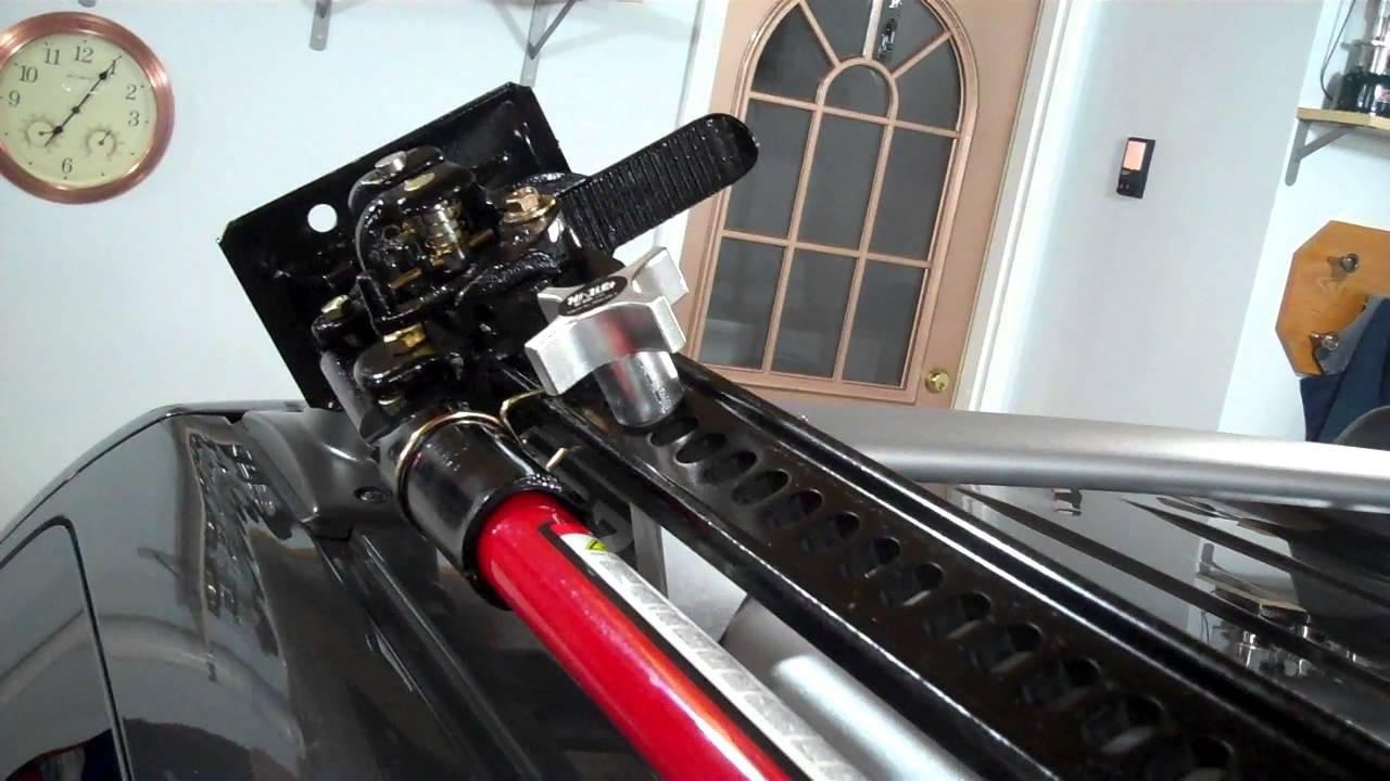 Nissan Xterra Roof Rack >> 2015 Nissan Xterra with Hi Lift Jack Mount - YouTube