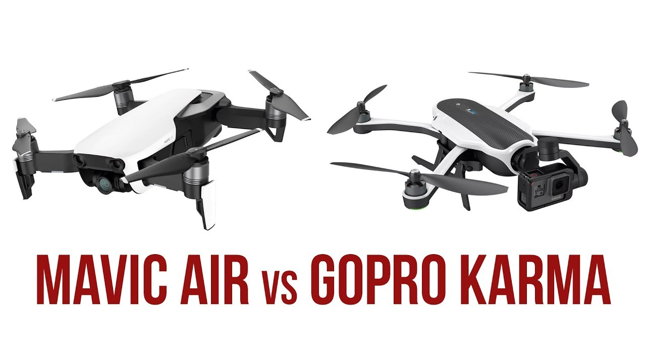 DJI Mavic Air Vs GoPro Karma