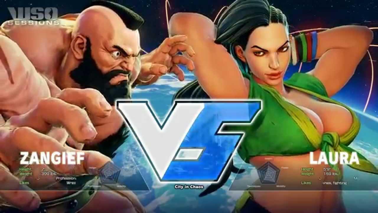 Wso Sessions 13 10 15 P2 Street Fighter V Zangief Laura