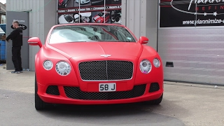 Bentley GTC - Matte Red