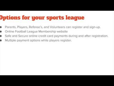 Create Your Football Team Website