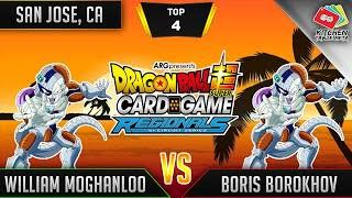Dragon Ball Super Card Game Gameplay [DBS TCG] San Jose Regional Top 4
