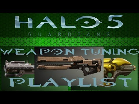 Halo 5: Guardians | Weapon Tuning Test Playlist