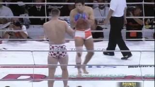 Repeat youtube video 05   Kazushi Sakuraba vs Mirko Cro Cop Filipovic PRIDE   Shockwave 28 08 2002