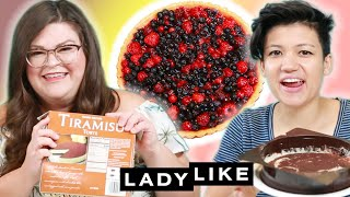 Kristin and Jen Try Every Trader Joe\'s Frozen Dessert • Ladylike