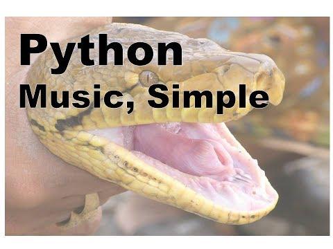 420-Python Music Player, Simple