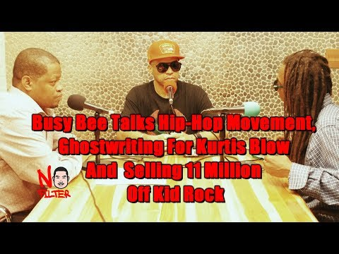 Busy Bee Talks Hip-Hop Movement, Ghostwriting For Kurtis Blow And  Selling 11 Million Off Kid Rock