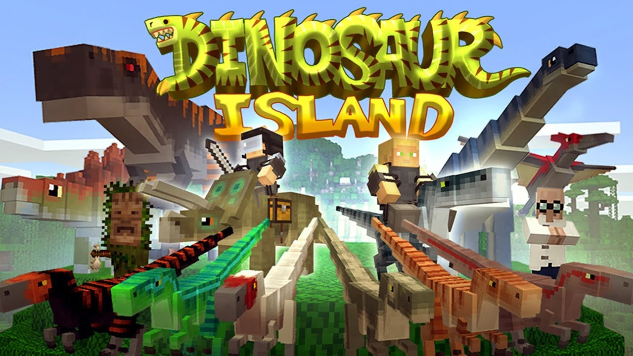 Minecraft Dinosaur Island Review