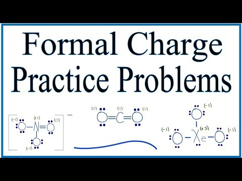 Formal Charge Practice Problems With Explanations Youtube