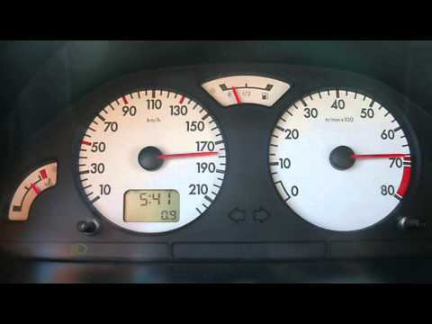 citroen saxo vts stock acceleration