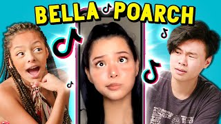 Teens React To Bella Poarch (Most Liked TikTok Of All Time)