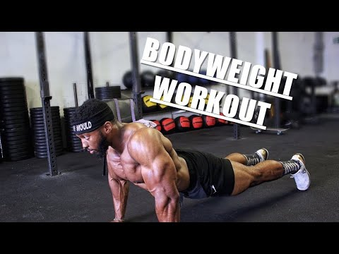 PERFECT FULL BODYWEIGHT WORKOUT WITH NO WEIGHTS | At Home Or Outdoors | A Full Body Routine