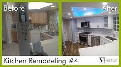 Kitchen Remodeling - Before and After - Boynton Beach Fl | Veltuz
