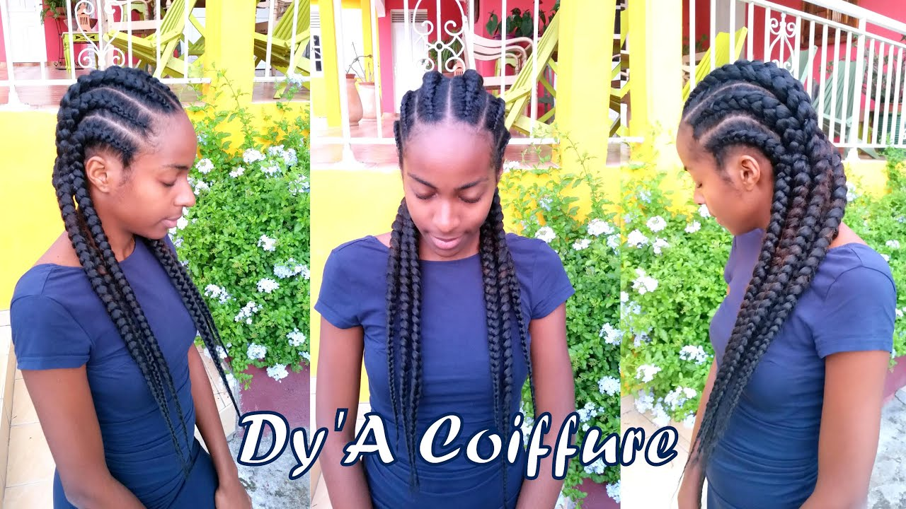 HOW TO ★ 6 Straight Back Feed In Cornrows From A Closer