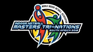 Court 1 0ct 16 Indoor Netball Master Tri-Nations South Africa
