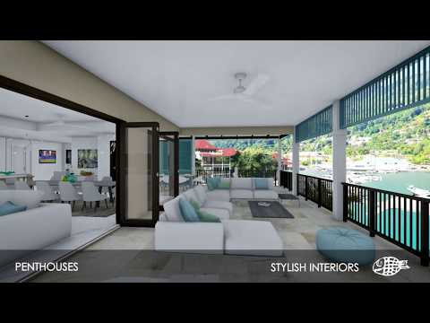 New Penthouses in Basin 6 | Eden Island Seychelles