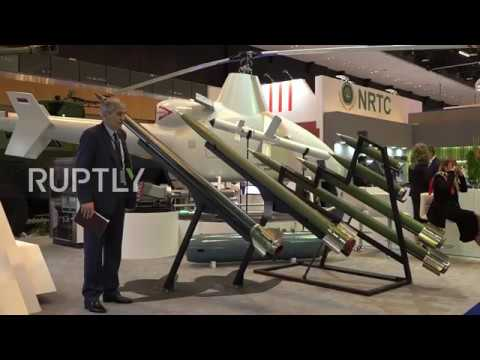UAE: Serbian 'Hornet' unmanned rotocraft goes on show at Abu Dhabi IDEX
