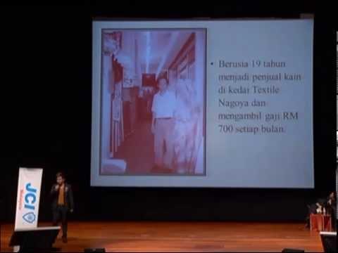 8 of 24: Dato' Calvin Khiu @ MK Curtain Group sharing @ Plenary Hall KLCC 2pm   07Sept 2013 JCI CYEA