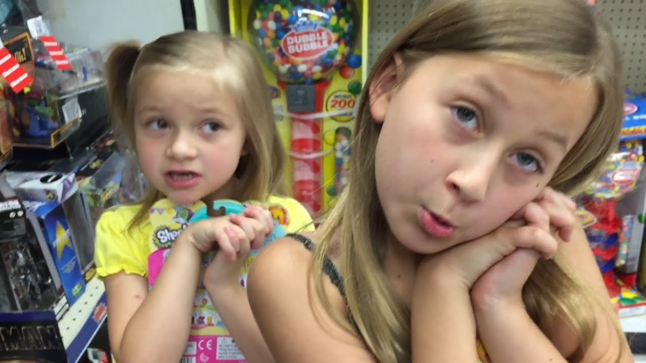cute kids beg daddy for toys during wwe figure shopping trip - youtube