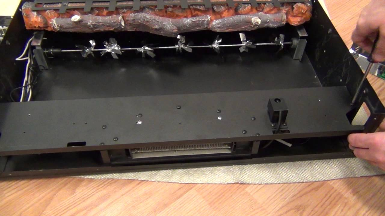 wall mount fireplace circuit board replacement youtube