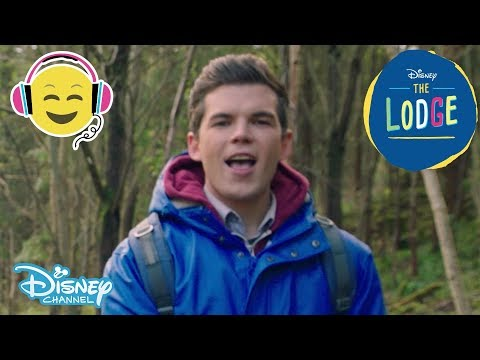 The Lodge   We Just Might Get Along Song 🎶   Official Disney Channel UK