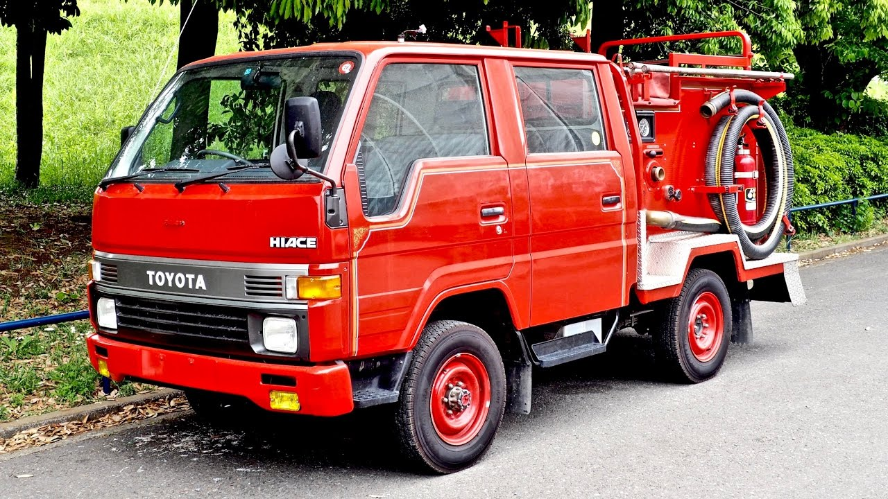 JDM Fire Engine - Toyota Hiace Double Cab Diesel 5-speed (USA Import) Japan  Auction Purchase Review
