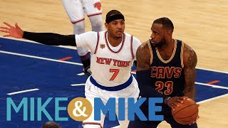 Stephen A. Smith Says Carmelo Anthony Willing To Accept Buyout To Go To Cavs   Mike & Mike   ESPN