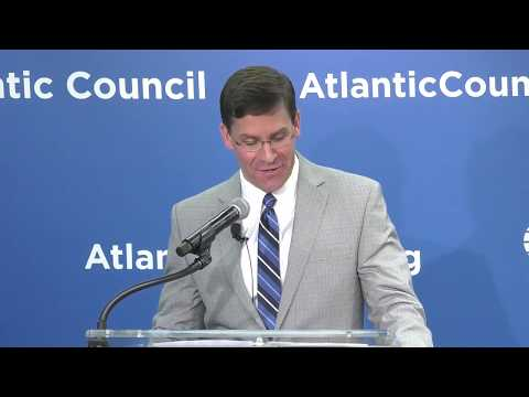 New acting Defense Secretary Mark Esper is bad news for China