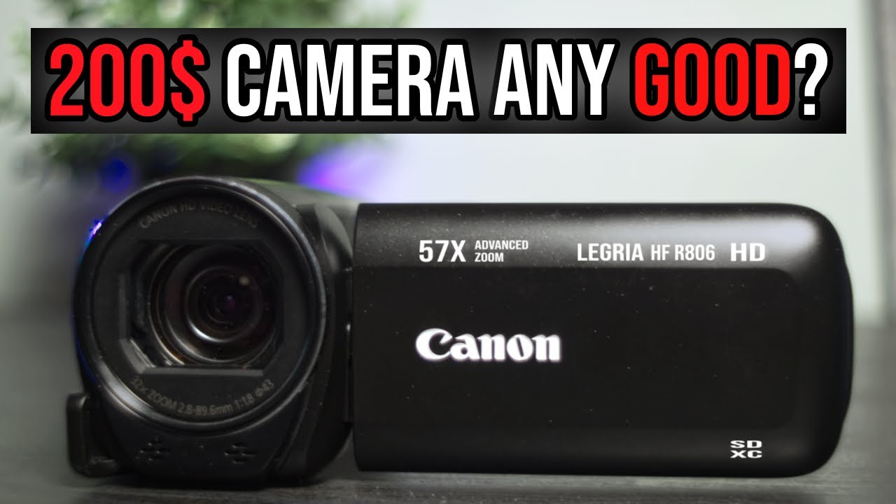 Canon Legria HF R806 Test Video Footage No Enhancement Hand Held