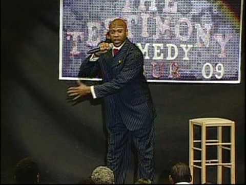Comedian Aaron Edwards - Testimony Tour