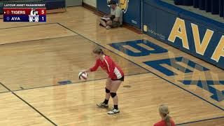 Volleyball   Ava vs New Covenant Academy   9-14-21 Full Game