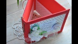 Коробочка для дисков и флешки. Обзор свадебной коробочки на четыре диска