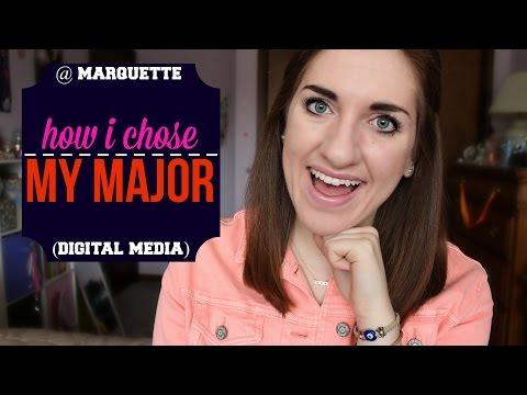 How I Chose My Major! (Digital Media) | Tewschool