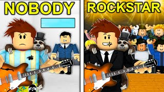 NOBODY To ROCKSTAR In Roblox Brookhaven..