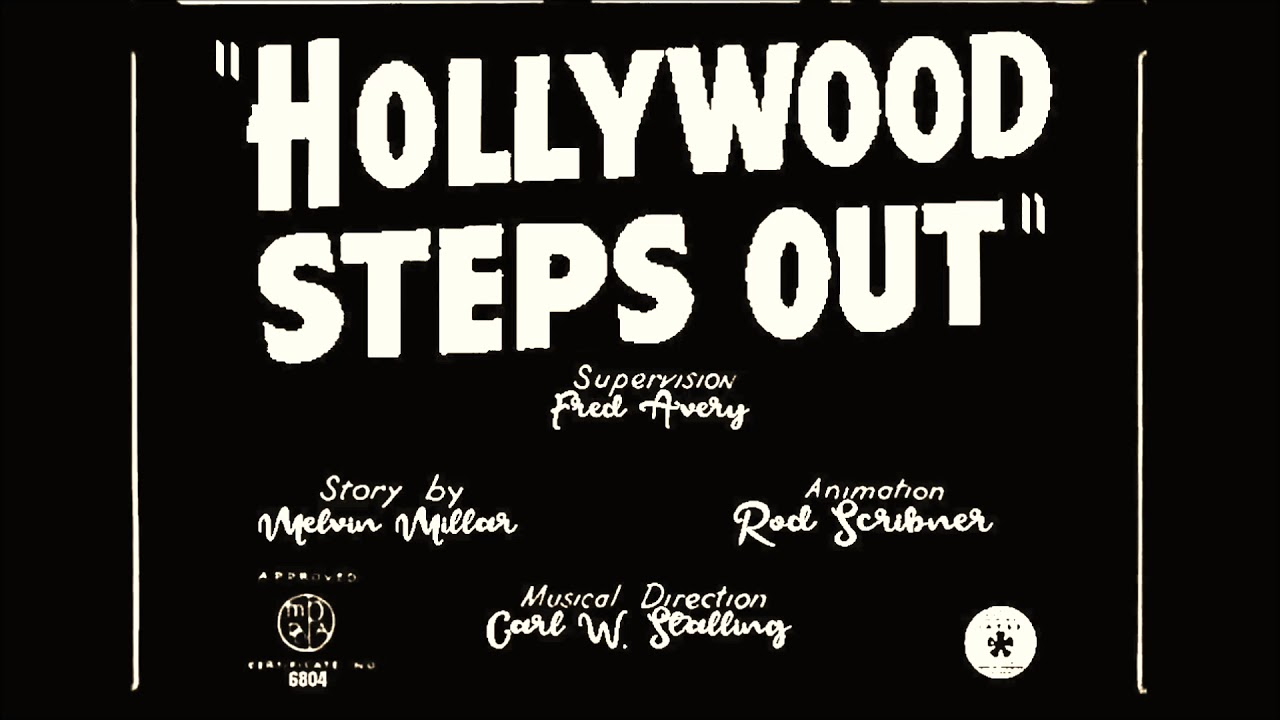 Hollywood Steps Out 1941 Music Recreation And Title
