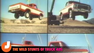 homepage tile video photo for Wild Pickup Truck Stunts Never Go Out Of Style