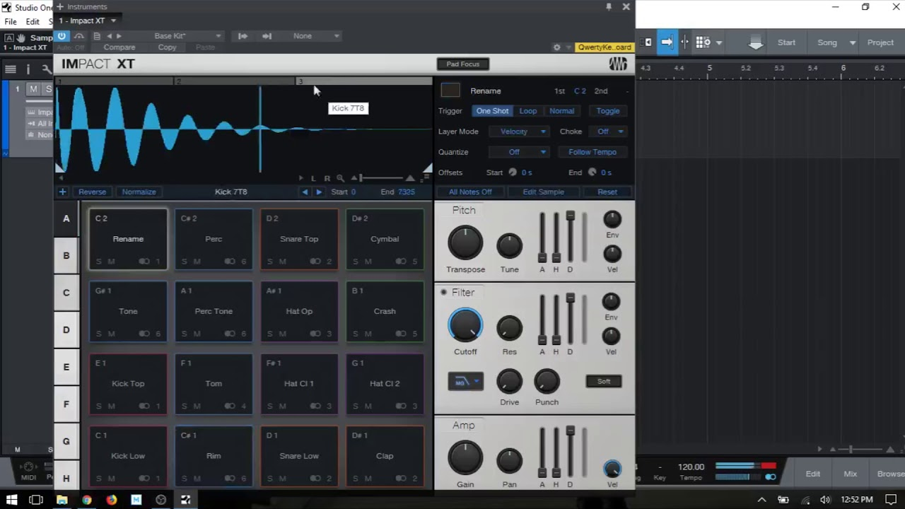 Learn Studio One 4 Impact Xt In Depth Part I