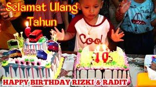 Download lagu Lagu Happy Birthday versi Angklung di Acara Ulang Tahun Rizki Dan Radit MP3