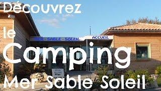 Découvrez le Camping Mer Sable Soleil à Leucate Méditerranée