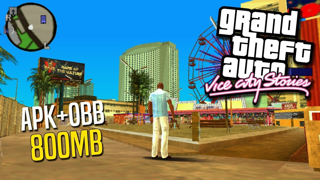 GTA Vice City Stories ANDROID (APK+OBB) – 800mb!  #Smartphone #Android