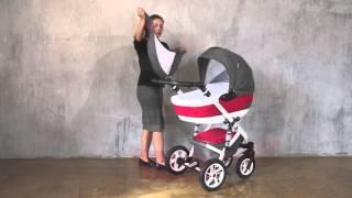 Коляска Caretto Riviera видео обзор