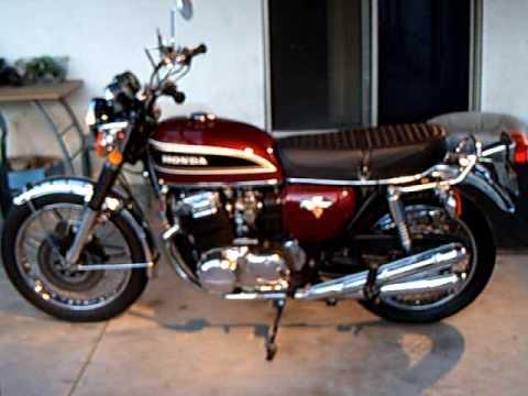 Honda CB750 1976 K6 hoffnagel - YouTube