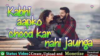 Waada | Romantic | Sad | Love | Emotional | Cute | Hindi Status | Best WhatsApp Status |